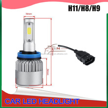 auto led headlight bulbs H7 ,led canbus light ,2017 new car led headlight ,auto parts