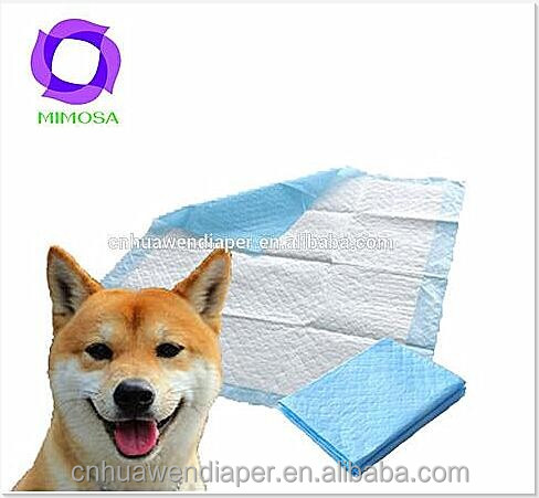 disposable super absorbent puppy training pad