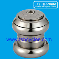 1-1/8 Gr5 titanium bicycle head parts titanium parts TSB-HS01