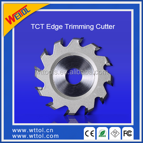 TCT edge trim cutter V shaped 12 tooth grooving router bits