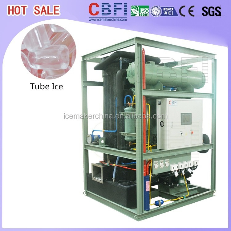 Ice Maker Machine Heavy Duty Tube Ice Maker 20 ton one day