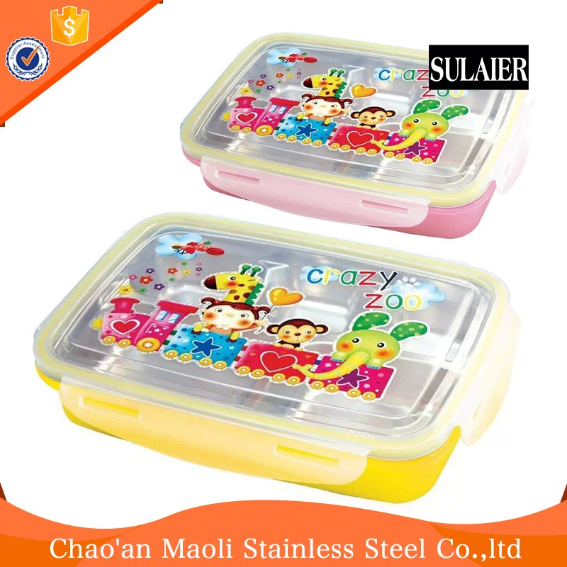 Wholesale Multifunction Bento Tools Kids Lunch Box