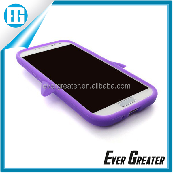 purple beautiful mobile phone covers,design soft rubber mobile phone cover for samsung