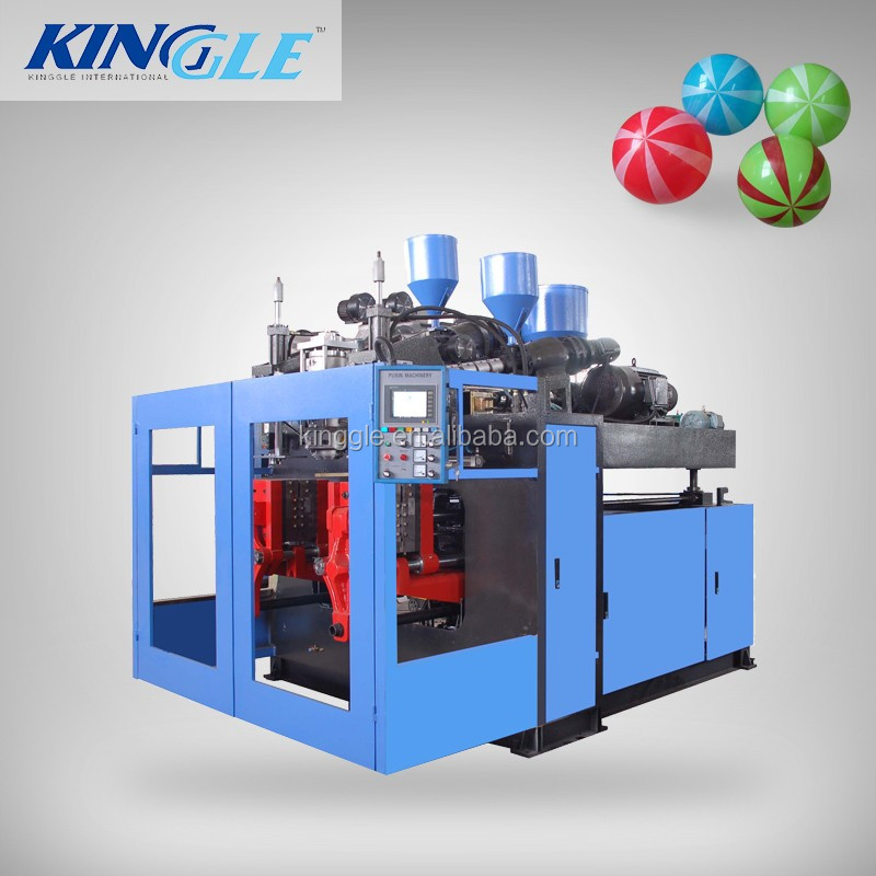 6 cavity LDPE toy ball plastic blowing machine