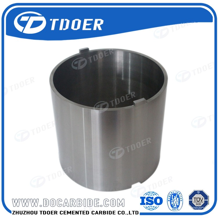 With Custom Sizes Tungsten Carbide Axle Sleeve For Oil Field