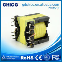 PQ3535 distribution transformer oil/high frequency transformer/electric transformer