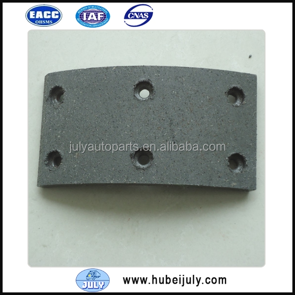 Hot Sale Original Dongfeng Spare Parts Diesel Engine Brake Lining 3501.31B-081