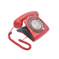 Old Style Corded Telephone with Caller ID