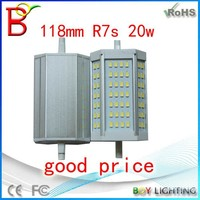 BOY new products led r7s 20w,118mm r7s led,led r7s 118mm 20w