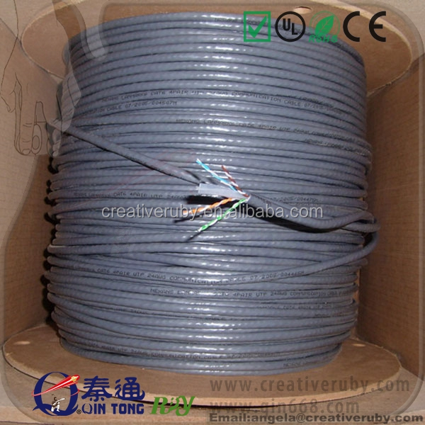 Network Cable/305M Pure Copper Lan Cable UTP Cat 6 Wire