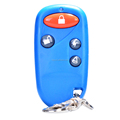 High Quality Plastic Case Rf Wireless Remote Control with battery