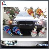 RIPDARK Most competetive & best quality new Led angel eyes headlight bulb H8 for BMW