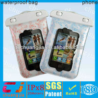 waterproof swimming phone covers for iphone4/4s