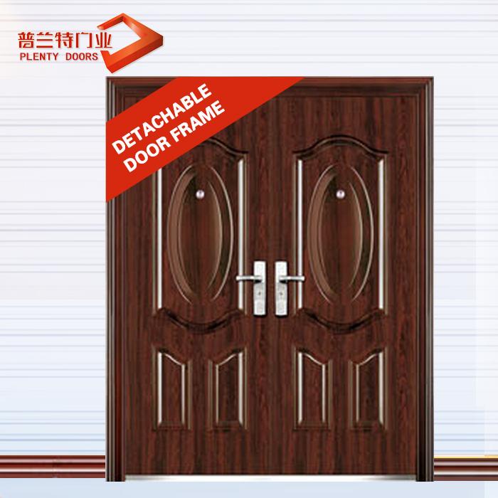 металлическая дверь двойного листа