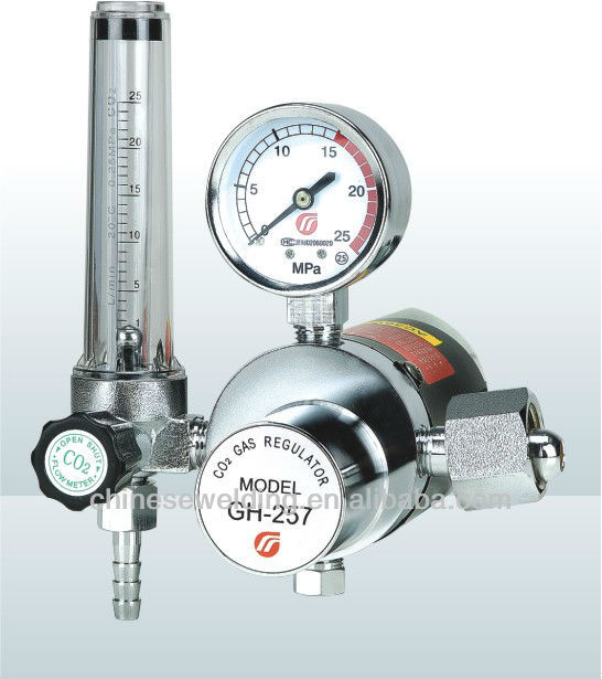 GH-257C Electric Heated CO2 Gas Regulator