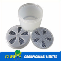 PP plastic bottle / plastic jar with lid