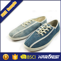 jeans canvas safety shoes man,flat stretch types canvas shoes
