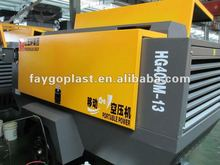 HG-400-3 M diesel mining used screw air compressor
