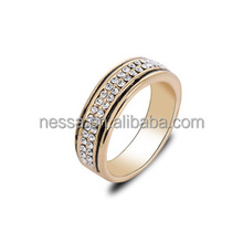 fashion fancy gold ring designs wholesale NSRI-10319