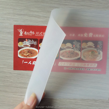 Food Grade Transparent silicone rubber sheets with competitive price