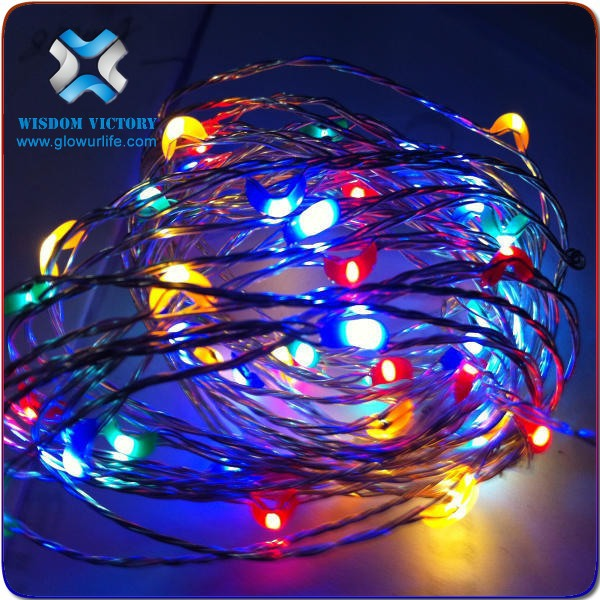 2016 Christmas holiday decoration new led light LED motif light decorative,copper wire led string light