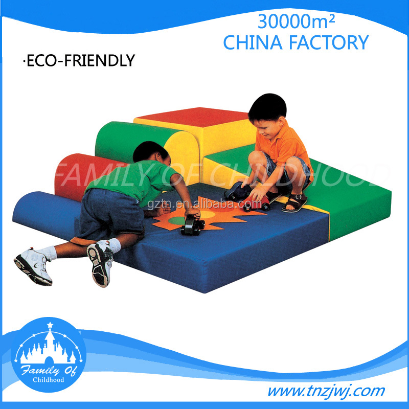 Good sale high quality new indoor baby soft play areas with PVC material