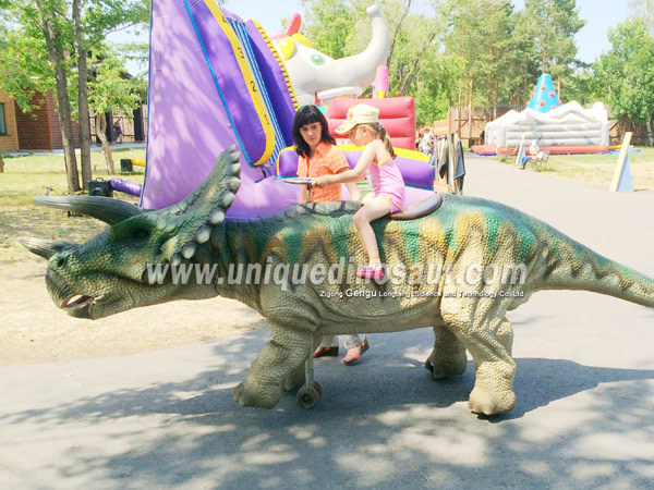 Remote Control Walking Dinosaur Ride Animated Rides