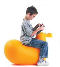 Hot Sell Duck Shape Toy Chair/ Animal Kids Stool