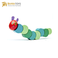 Children twister caterpillars building blocks wooden educational toys