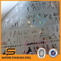 Lithuania lianzhong stainless steel corp kitchen panel