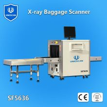 UNIQSCAN Automatic alarm airport x-ray baggage security scanner machines x ray baggage scanning inspection system