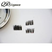 High quality magnetic lashes premium double magnet eyelashes