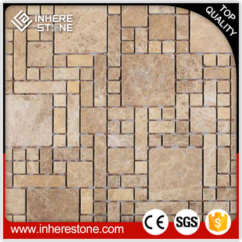 marble stone fish scale mosaic tile