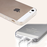 Transparent CLEAR JELLY TPU Gel Soft Silicone Case Cover Skin Protector For iPhone 5 5s