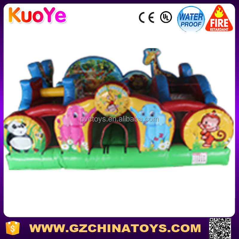 animal inflatable fun city jumper playground for children