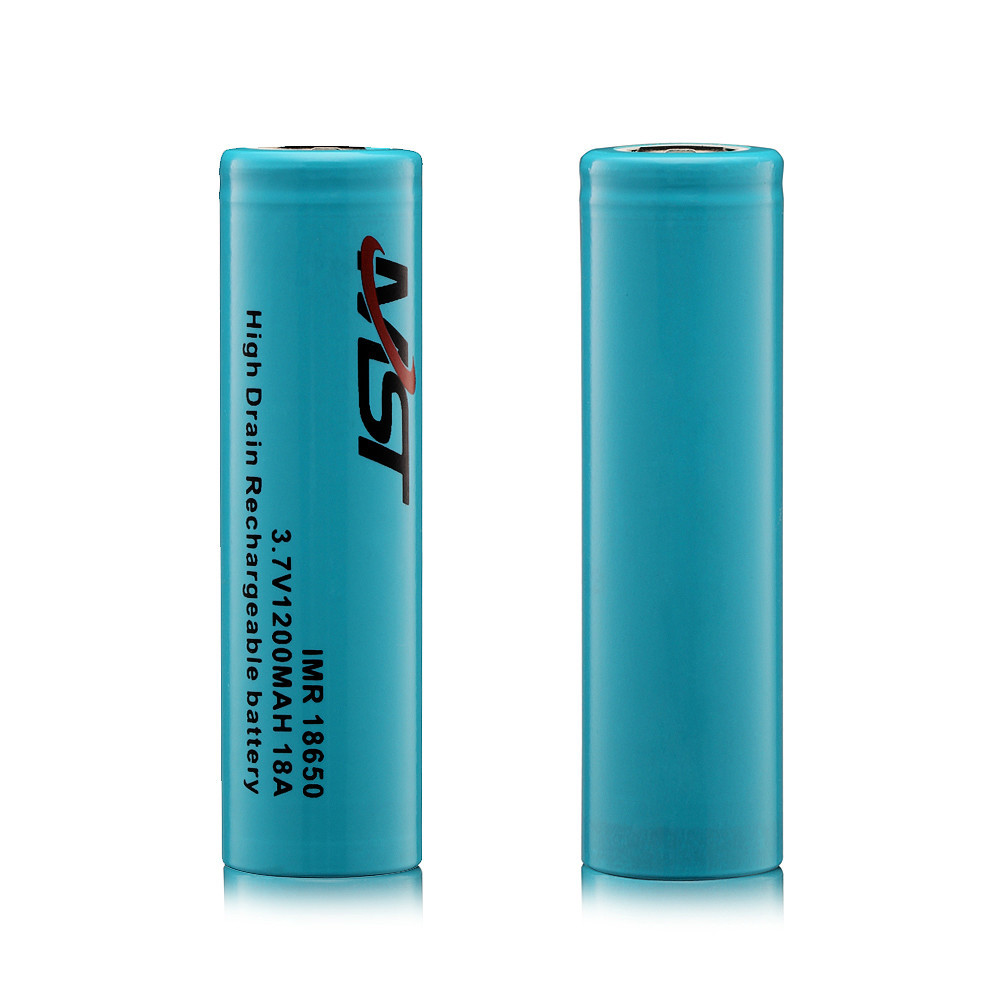 UMST high Umst capacity 3.7v 1200mah 3.7v battery , lithium rechargeable 3.7v battery 1200mah ,18650li-ion batteries