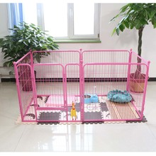 Large outdoor comfortable fashionable high quality folding galvanized low price strong dog kennels