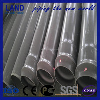 Trade assurance 400mm grey color upvc pipe specification