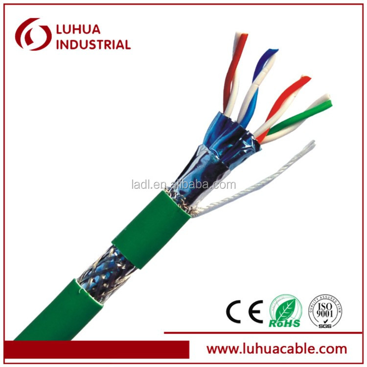 Professional Manufacturers SFTP CAT7 cable LAN cable computer cable with CE and RoHS approved made in China