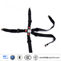 Five-point infant car stretcher seat safety belt products
