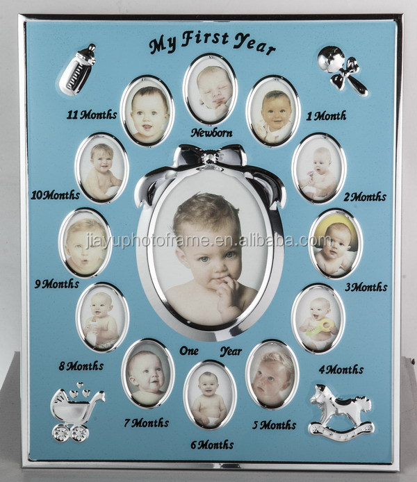 USA Hot Selling 13 Opening First Year Baby Photo Frame