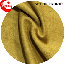 Very Popular Polyester Suede Fabric For Garment/Shoes/Bags