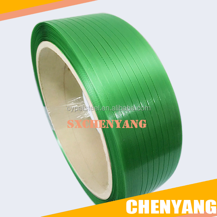 green pack materi polyethylene terephthalate plastic strap for pallet pet strapping band