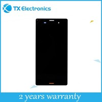Wholesale touch screen digitizer replacement parts display assembly original lcd for sony xperia v lt25