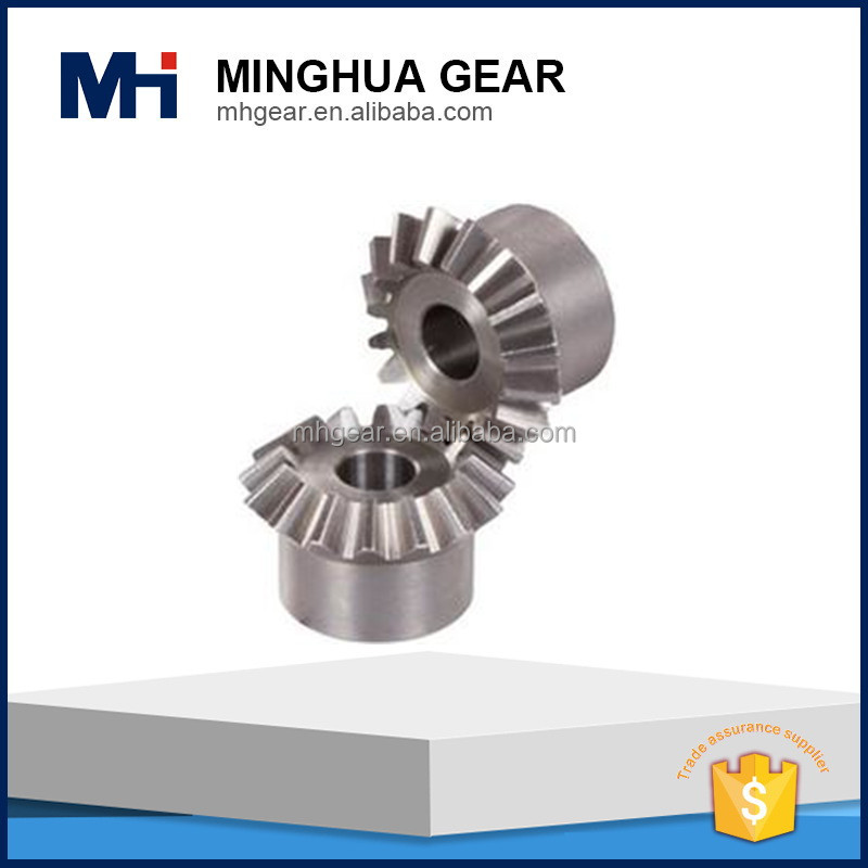 professional customized spur bevel gear set