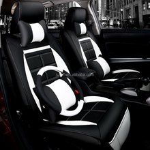 5D Activity sports style PU leather car seat cover