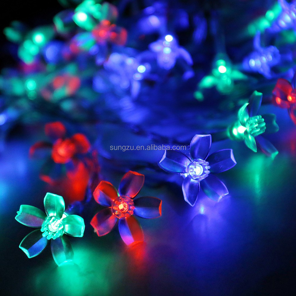 2016 solar home accents holiday led lights/decoration fairy flashlight