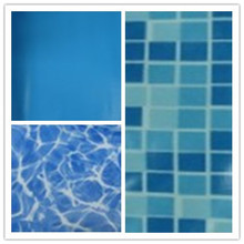 Fashion design swimming pool pvc liners