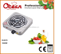 HOT SALE AND GOOD QUALITY ELECTRIC HOT PLATE SINGLE BURNER 1000W