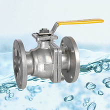 Stainless Steel Chemical Resistant Ball Valve with Flange End